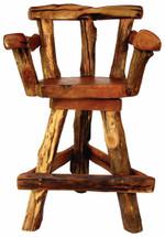 Sawtooth Swivel Bar Chair by GroovyStuff