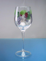 Bacchus White Wine Glasses Set/4