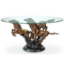 Galloping Horse Trio Coffee Table by SPI
