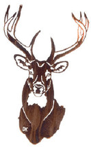 """Buck"" Deer Metal Wall Art"