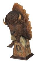 Dust and Thunder Bison Sculpture by Mill Creek Studios