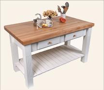 John Boos Grazzi Kitchen Island Table
