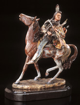 """""""Visionary"""" Indian Sculpture by Christopher Pardell"""