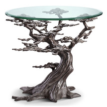 Cypress Tree End Table by SPI