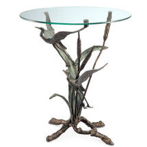 Crane Pair in Flight End Table by SPI