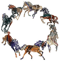 Lazart Circle Of Horses