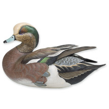Life-Size Weaver Bottoms American Widgeon by Loon Lake Decoy Company
