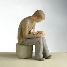 New Dad - Willow Tree Figurine