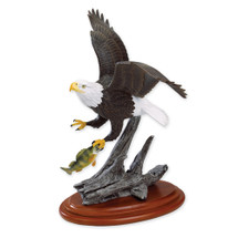 """Columbia"" Flying Bald Eagle Sculpture"