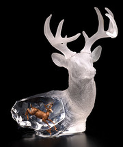 """Majestic Spirit"" Deer Sculpture"