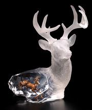 """""""Majestic Spirit"""" Deer Sculpture"""