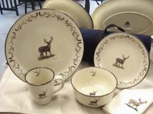 Whitetail Deer With Antlers Dinnerware Adventure Series