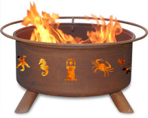 "Patina ""Atlantic Coast"" Outdoor Fire Pit"