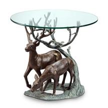 Deer Pair End Table by SPI