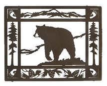"""Lazart """"Bruin"""" Bear Wall Art"""