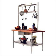 John Boos Cucina Grandioso Kitchen Work Table
