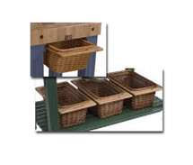 John Boos Wicker Baskets