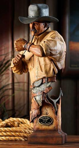 When the Goin' Gets Tough Cowboy Sculpture by Stephen Herrero