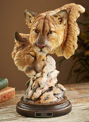 Spellbound – Cougars Sculpture by Stephen Herrero