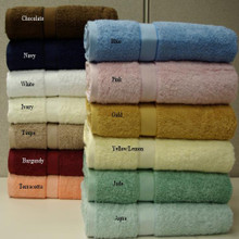 2-PC Combed cotton Bath Sheet 35x70""