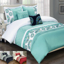 Chelsea Multi - Piece Duvet Cover Set 100% Cotton
