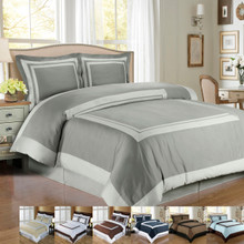 100% Egyptian cotton Hotel Duvet cover set
