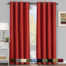 Galleria Blackout  Thermal Coating Tonal Stripe Window Grommet Panel