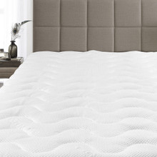 Royal Tradition Waterproof Tencel Mattress Pad