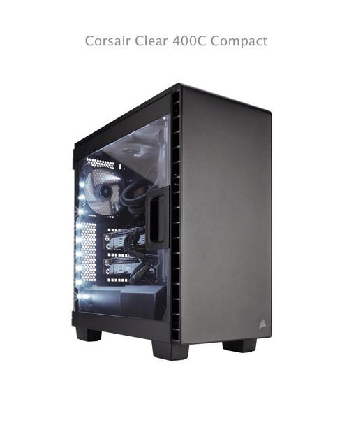 Corsair Carbide Clear 400C Compact Mid-Tower Black Window