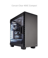 Corsair Carbide Clear 400C Compact Mid-Tower Black Window