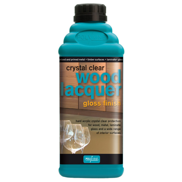 Polyvine Water Based Clear Lacquer Finish