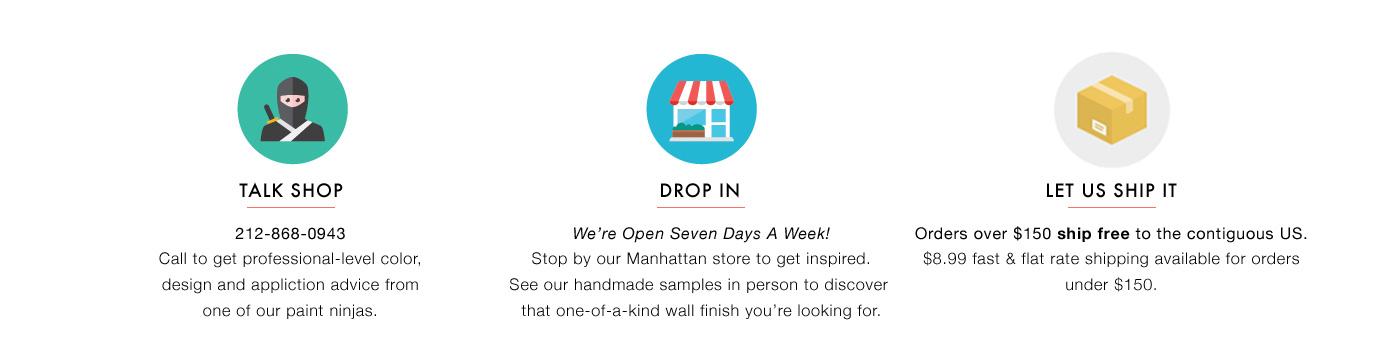Visit Our Paint Store!