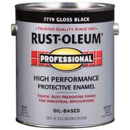 RUST-OLEUM Professional Gloss Black High Performance Enamel Gallon