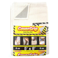 Cover Grip Safety Drop Cloth 8-Ounce 5ft x 8ft