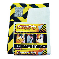 Cover Grip Safety Drop Cloth 10-Ounce 4ft x 15ft