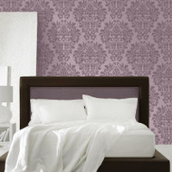 Royal Design Studio Fabric Damask Wall Stencil
