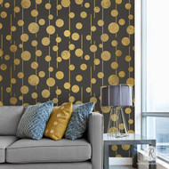 Royal Design Studio Uzma Circles Wall Stencil