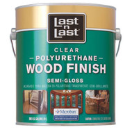 Last N Last Oil-Based Clear Polyrethane Wood Finish Semi-Gloss