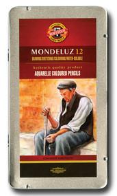 Koh-I-Noor Mondeluz Aquarelles Watercolor Pencils (Set of 12)