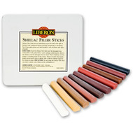 Liberon Shellac Filler Sticks Tin of 10