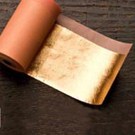 Nazionale Ribbon Metal Leaf Rolls Imitation Gold Color 2.5
