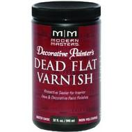 Modern Masters DP609 Decorative Painter's Dead Flat Varnish 32oz
