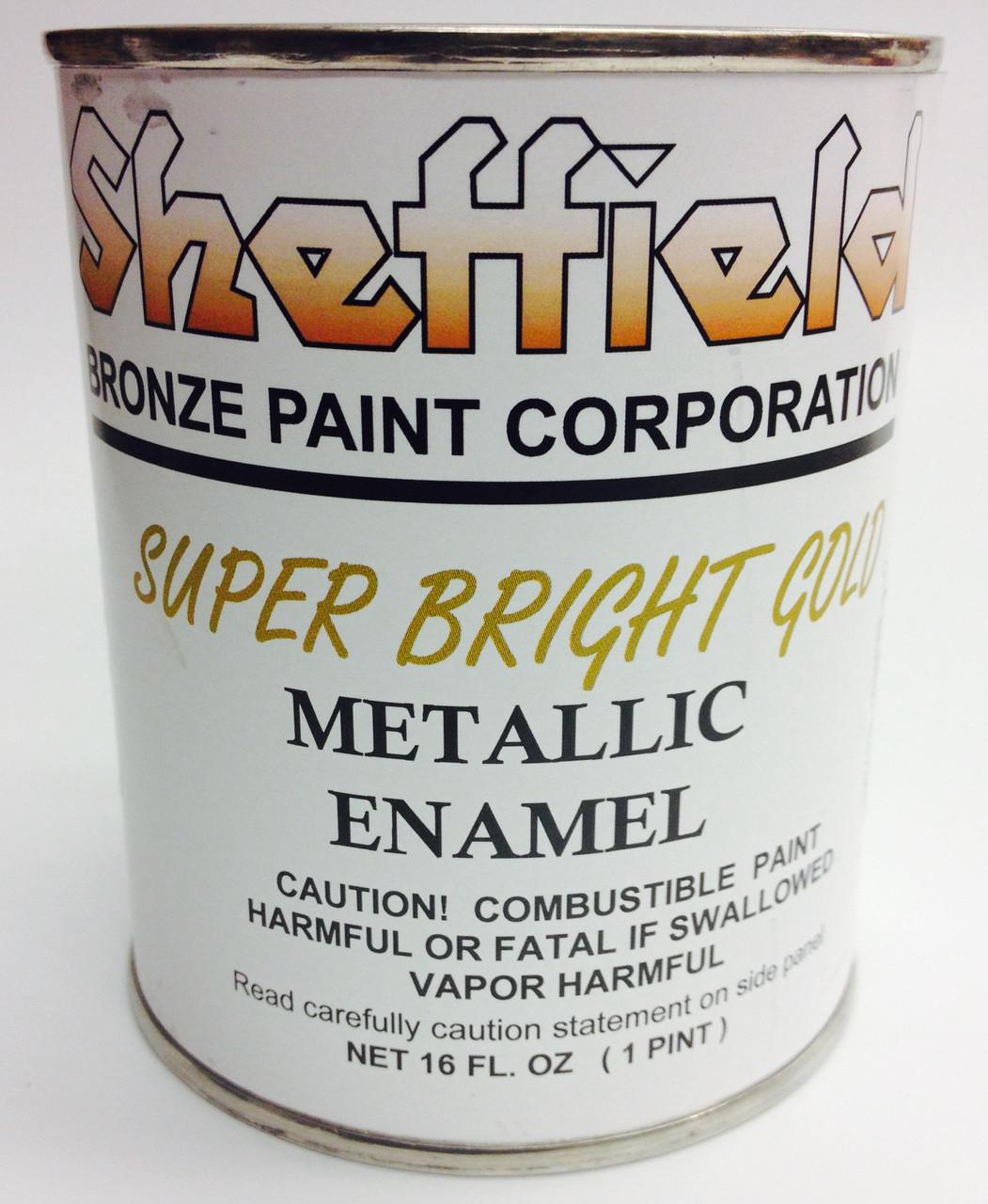 Sheffield Super Bright Gold Metallic Paint