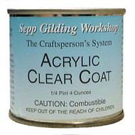 Sepp Leaf Acrylic Clear Coat 4-Ounce