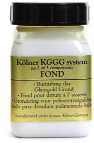 Kolner White Fond Burnishing Clay For Gilding