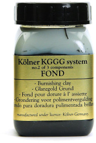 Kolner Black Fond Burnishing Clay For Gilding