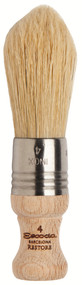 Global Art Materials Escoda Restore Brush - Natural Pointed Oval Bristle Short Handle