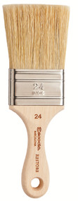 Global Art Materials Escoda Restore 2-inch Brush - Natural Flat Bristle Size 24
