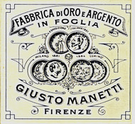 Giusto Manetti Genuine Transfer and Patent Leaf Books