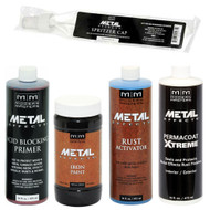 Modern Masters ME208 Reactive Metallic Iron Paint Kit